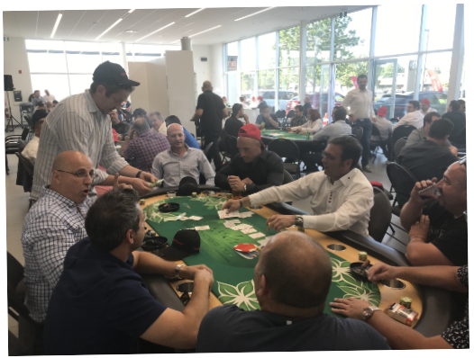 Poker 2018 crowd